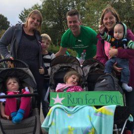 Raise Awareness: Patric läuft für CDKL5 den Greifensee-Halbmarathon