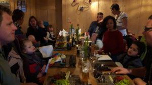 Abendessen CDKL5 Dualskitag